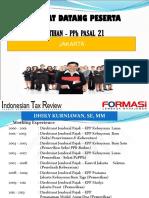 New Ptkp Pph21 2015