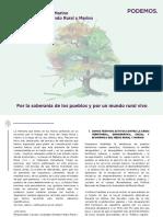 Memoria 2015-2016 Área de Medio Rural y Marino Consejo Estatal del Mundo Rural y Marino