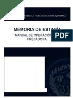Manual de Operacion Cnc Fresadora Finaal