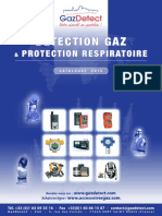 GAZDETECT Detection Gaz Et Protection Respiratoire