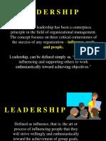 MGT Leading