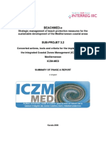 ICZM-MED - Phase a Technical Report - Summary