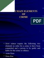 Elememts of Crime