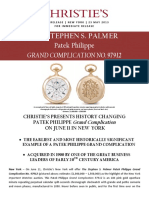 Patek Philippe - Stephen S. Palmer pocket watch (No. 97912)