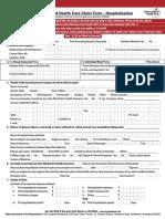 ICICI GMC - Reimbursement Form