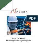 Kable Bezhalogenowe NExans