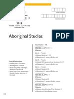 2012 Hsc Exam Aboriginal Studies