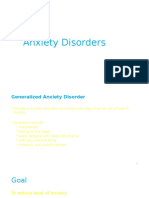 Anxeity Disorders