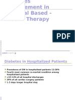 Insulin in Hospitalized Patients