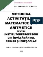 Metodica Activitatilor Matematice Primar Si Prescolar Part1