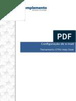 A01 Configuração de e Mail OTRS