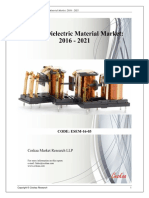 Global Dielectric Material Market 2021