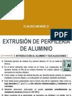 Extrusion de perfiles de aluminio