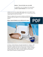 Bolsas e Sapatos Femininos - Como Sair Bonita Com o Seu Estilo