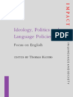 [Thomas Ricento (Editor)] Ideology, Politics and Language