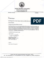 Gautam Buddha University_Req for Industry Visit