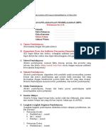 Draft RPP Kurikulum 20131