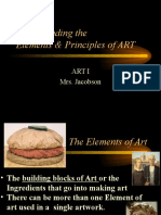 review of elements   principles of art