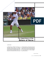 The Important of Return Serve