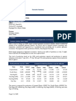 Garments Accessories Pre-investment Feasibility Report