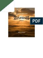On Selflessness
