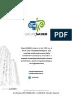 Institucional Grupo SABER-2017