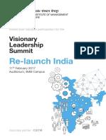 IIMB PGPEM Visionary Leadership Summit