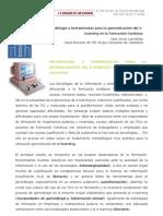 Metodologia y Herramientas Para La Generalizacion Del Elearning en La Formacion Continua