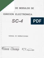 Manual Instrucciones Probador Modulos Ignicion Electronica Sc4 Wilson Champ Diagnostico Diagramas Conexion