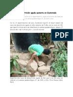 Desnutricion en Guatemala