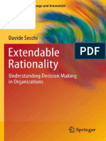 Extendable Rationality - Understanding Decision Making in Organizations (Organizational Change and Innovation)