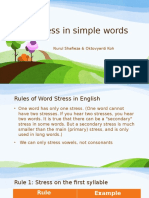 Stress in Simple Words