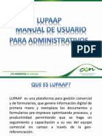 Presentacion LUPAAP ADMINISTRATIVOS
