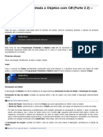 Sinergia - Programação Orientada a Objetos Com C# - Parte 2.2 - Classe