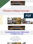 Introduction to Peking University