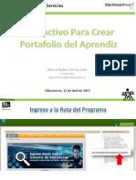 Pasos Creación Carpeta Aprendiz Bb2015 v2