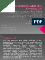Sleep Disorders and Eeg Recording