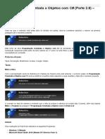 Sinergia  -  Programação Orientada a Objetos Com C# - Parte 2.8 - Classe