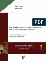 Ingeniería Básica de Una Planta de Producción de PVC Granular