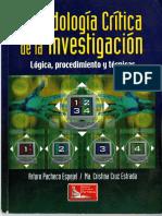 Metodología critica de la investigación- Arturo Pacheco Espejel