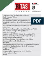 Jurnal Integritas Vol 1
