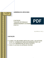 p07 Hidraulica Aplicada Cavitacao Reservatorios Pratica