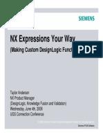 Anderson - Design - Custom DesignLogic Functions