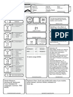 Character Sheet - Alternative - Tabaxi Monk