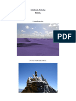 Actividades Unidad  3 Photoshop. Nicolás Lisandro Pavone