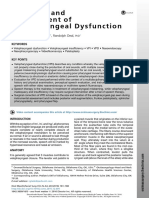 Diagnosis and Management of Velopharyngeal Dysfunction