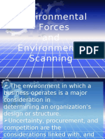 Environmental Forces -Scanning