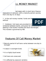 Call Money Market