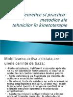 Bazele Kinetoterapiei 19.01.2016