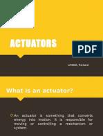 Actuator Types & Application